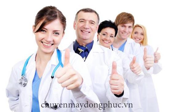 may đồng phục bác sĩ