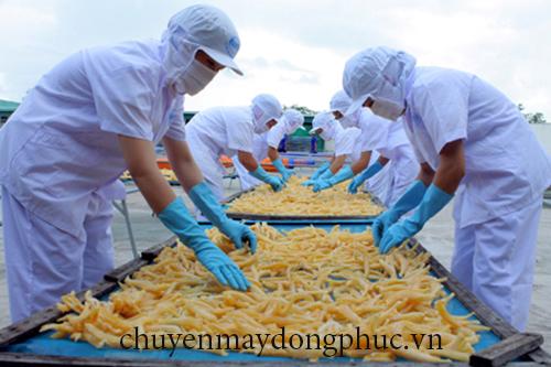 Xưởng may nón ngành thủy sản