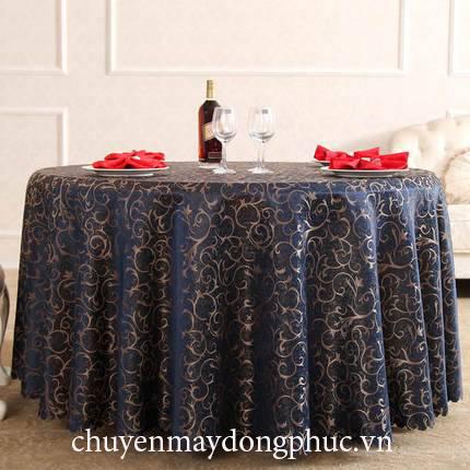 May khăn trải bàn nhà hàng
