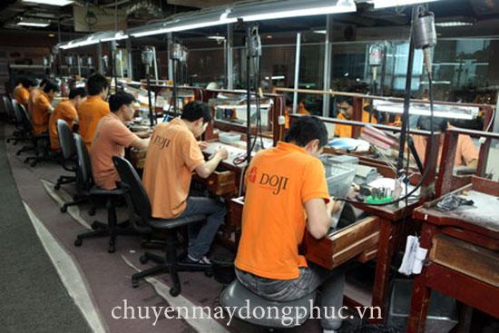 Xưởng may đồng phục áo thun công nhân
