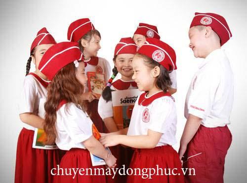 Chuyên may đồng phục trường tiểu học
