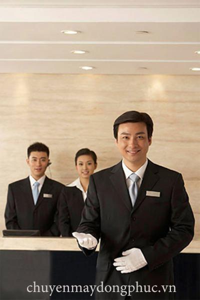 Đồng phục lễ tân nhà hàng, khách sạn