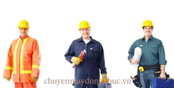 Đồng phục công nhân xay dựng