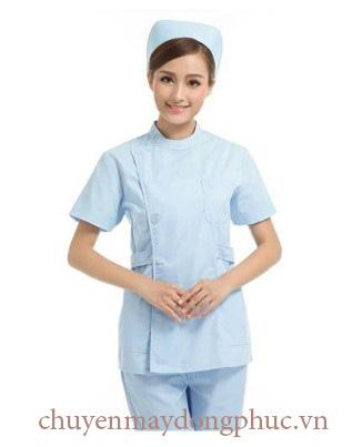 May đồng phục y tá chuẩn Bộ Y Tế